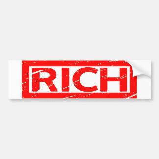 Adesivo Para Carro Selo dos ricos