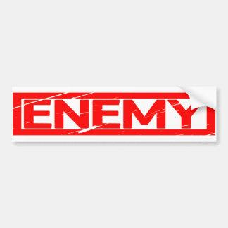 Adesivo Para Carro Selo inimigo