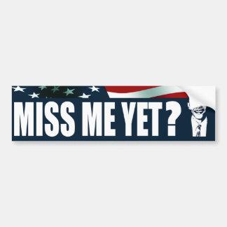 Adesivo Para Carro Senhorita Me Ainda de Obama?