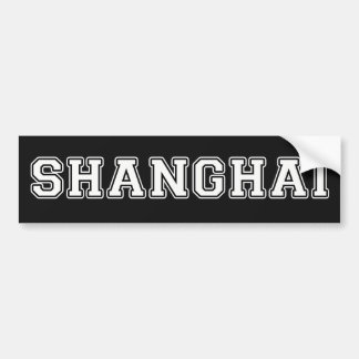 Adesivo Para Carro Shanghai