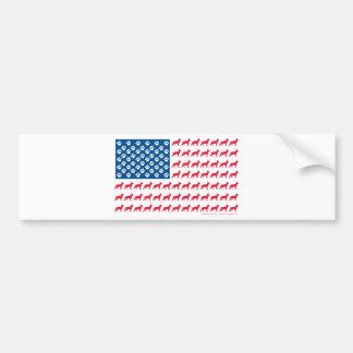 Adesivo Para Carro Shepard-Bandeira patriótica
