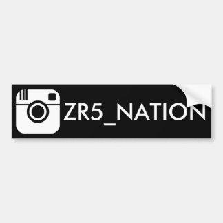Adesivo Para Carro Siga o preto de @ZR5_NATION
