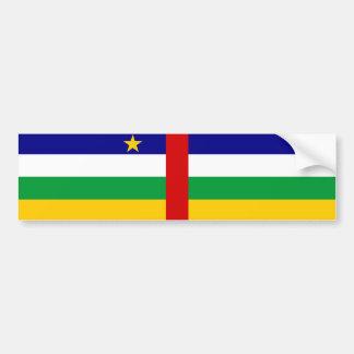 Adesivo Para Carro Símbolo da bandeira de país de Central African