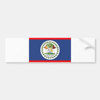 Adesivo Para Carro Símbolo do país da bandeira de Belize
