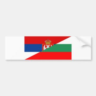 Adesivo Para Carro símbolo do país da bandeira de serbia Bulgária