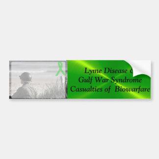 Adesivo Para Carro Síndrome da Guerra do Golfo da doença de Lyme,