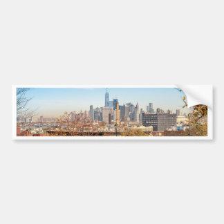 Adesivo Para Carro Skyline da Nova Iorque