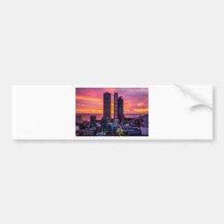 Adesivo Para Carro Skyline de Manila Filipinas