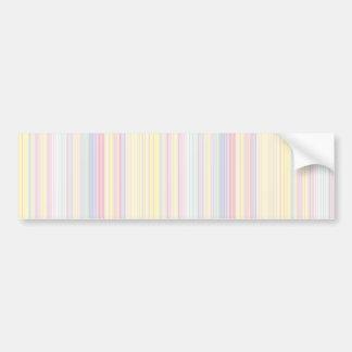 Adesivo Para Carro Sonho feliz - listra colorida elegante
