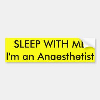 Adesivo Para Carro SONO COM MIM eu sou um Anaesthetist