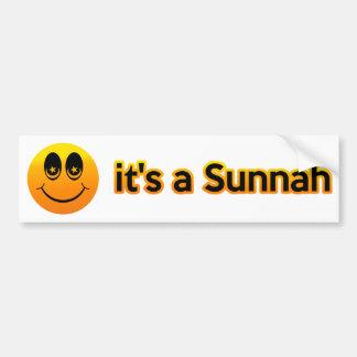 Adesivo Para Carro Sorriso é um Sunnah