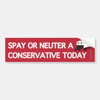 Adesivo Para Carro Spay o neutro um conservador