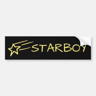 Adesivo Para Carro STARBOY & amarelo customizável da estrela de