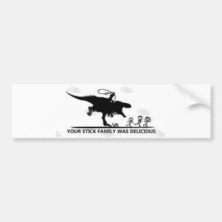 Adesivo Para Carro Sua vara Family/T-rex