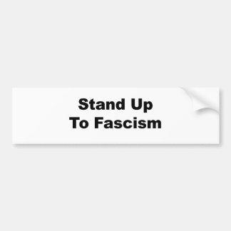 Adesivo Para Carro Suporte até o fascismo