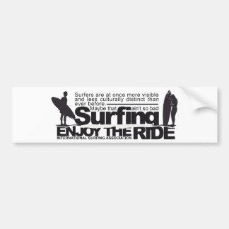 Adesivo Para Carro Surf do vintage