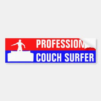 Adesivo Para Carro Surfista profissional do sofá