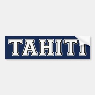 Adesivo Para Carro Tahiti