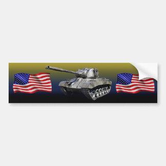 Adesivo Para Carro Tanque com bandeiras dos E.U. - autocolante no