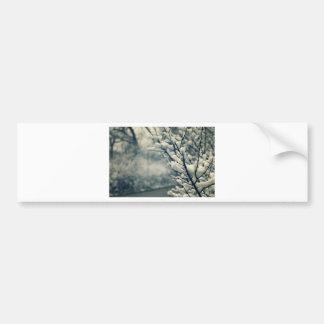 Adesivo Para Carro Tapete do rato nevado da árvore
