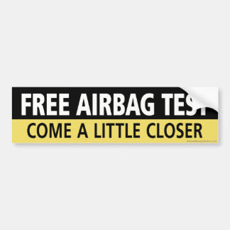 Adesivo Para Carro Teste livre da bolsa a ar