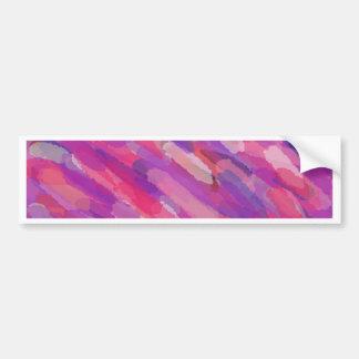 Adesivo Para Carro Teste padrão abstrato do roxo e do rosa