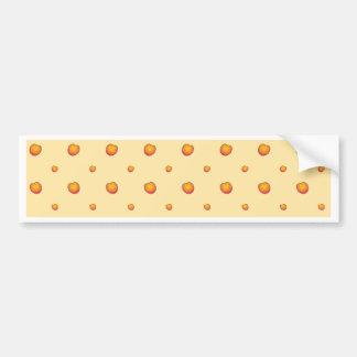 Adesivo Para Carro Teste padrão do pêssego