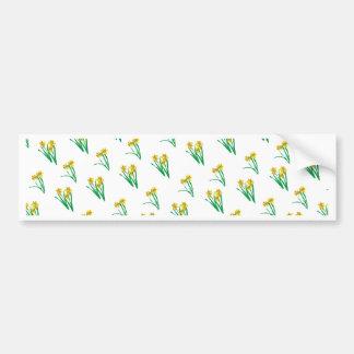 Adesivo Para Carro Teste padrão dos Daffodils