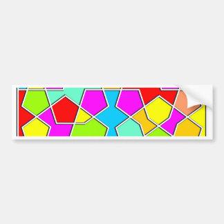 Adesivo Para Carro teste padrão geométrico islâmico