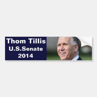 Adesivo Para Carro Thom Tillis para o Senado dos E.U.
