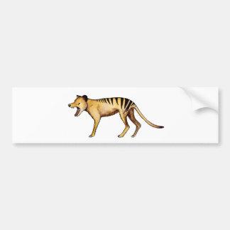 Adesivo Para Carro Tigre tasmaniano, Thylacine