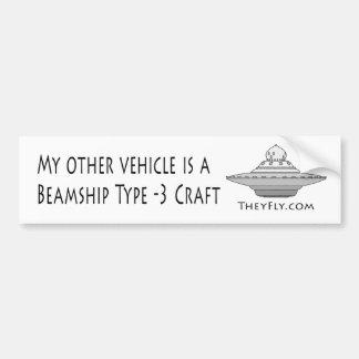 Adesivo Para Carro Tipo de Beamship - artesanato 3