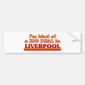 Adesivo Para Carro Tipo de I´m de uma grande coisa em Liverpool
