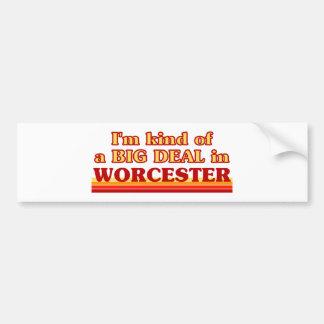 Adesivo Para Carro Tipo de I´m de uma grande coisa em Worcester