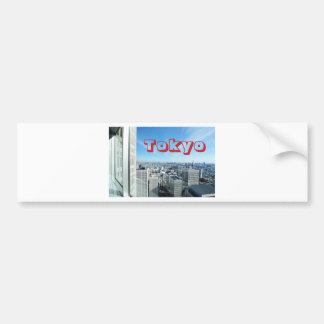 Adesivo Para Carro Tokyo, Japão