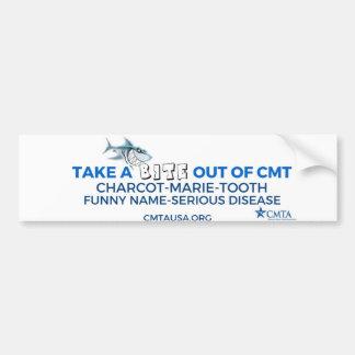 Adesivo Para Carro tome uma mordida fora de CMT