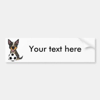 Adesivo Para Carro Trabalhos de arte australianos do futebol do cão