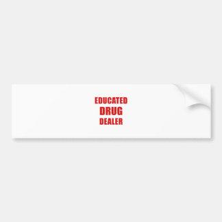 Adesivo Para Carro Traficante de drogas educado (farmacêutico)