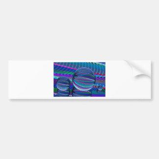 Adesivo Para Carro Três bolas de vidro na cor