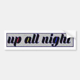 Adesivo Para Carro Tri toda a noite etiqueta ascendente estática
