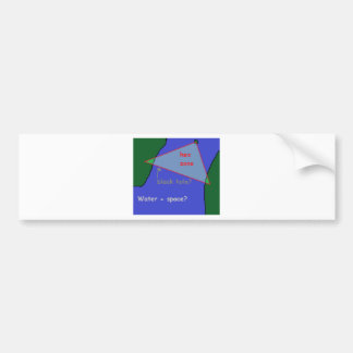 Adesivo Para Carro Triângulo de Bermuda: a teoria