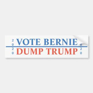 Adesivo Para Carro Trunfo da descarga de Bernie do voto