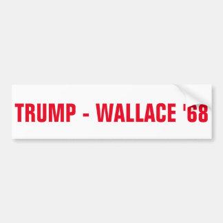 ADESIVO PARA CARRO TRUNFO - WALLACE '68