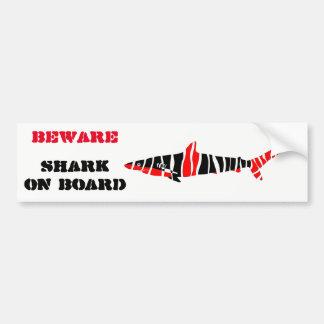 Adesivo Para Carro Tubarão
