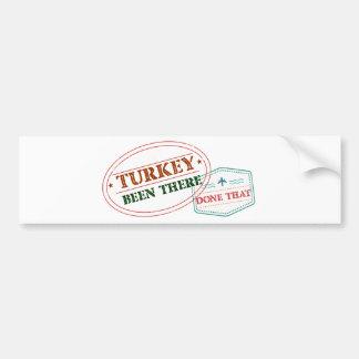 Adesivo Para Carro Turquia feito lá isso