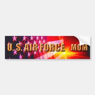Adesivo Para Carro U.S. Autocolante no vidro traseiro da mamã da