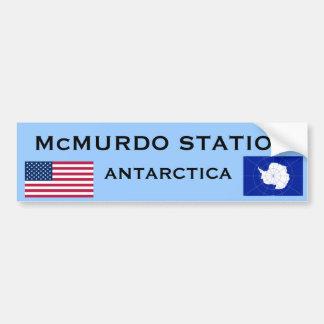 Adesivo Para Carro U.S. - Autocolante no vidro traseiro de McMurdo a