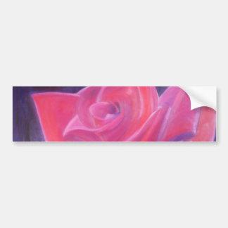 Adesivo Para Carro Uma rosa vermelha dos amantes