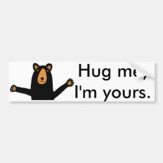 Adesivo Para Carro Urso engraçado pronto para desenhos animados do
