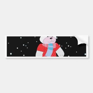 Adesivo Para Carro urso polar